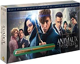 Fantastic Beasts and Where to Find Them 3D & 2D plus Magic Wand (Blu-Ray & DVD Combo) (Blu-Ray)