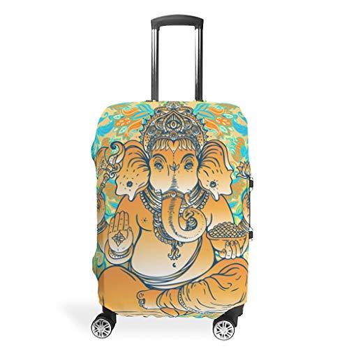 RNGIAN - Protector de maleta de viaje para yoga, diseño de elefante