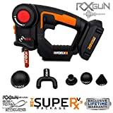 RxGun SUPERx V10 Percussion Massager Cordless Rechargeable Handheld Percussive Muscle Stimulation Vibration Device Deep Tissue Muscles, Recovery Relief Massage Gun Includes WX550L NOT TheraGun