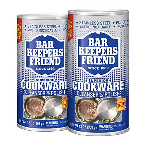 how to clean crock pot base, cookware with bar keepers friend cleanser & polish