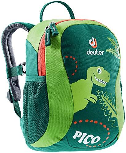 Deuter Unisex-Youth Pico Rucksack, Alpinegreen-Kiwi, 28 x 19 x 12 cm, 5.0 L