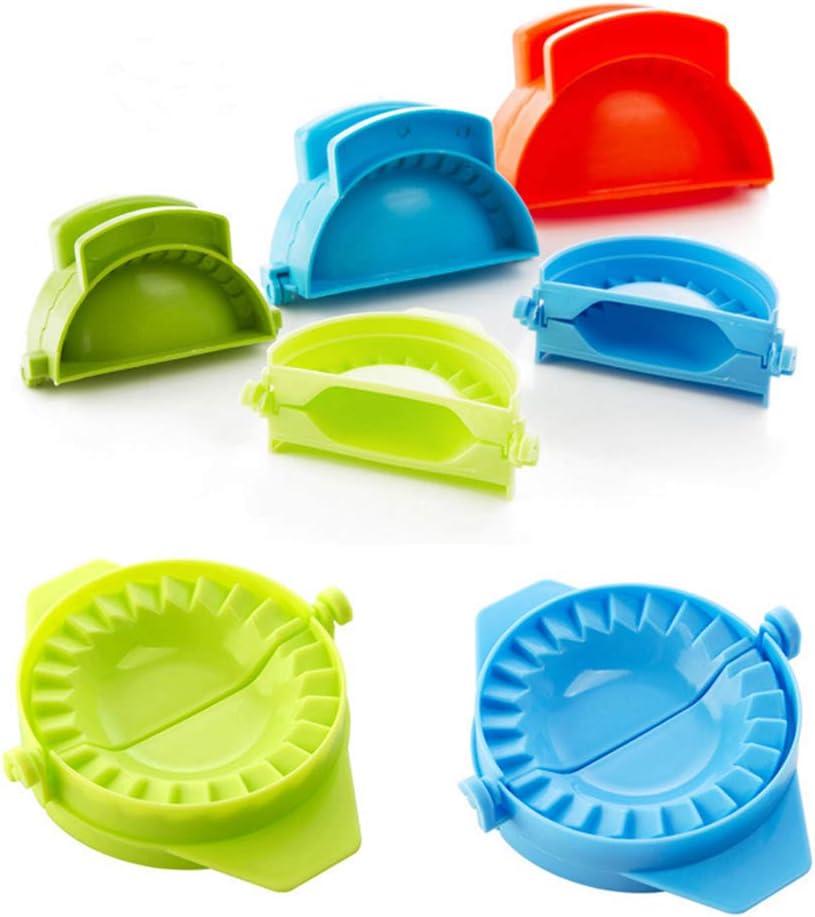 3 Pcs Plastic Dumpling excellence Maker Atlanta Mall ZTWEY Multicolor Jiaozi Doug