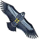 Cometa con Forma de águila de Gran tamaño para niños y Adultos, Cometa Parapente voladora, Adecuada para niños Adultos Principiantes Jardín al Aire Libre Granja