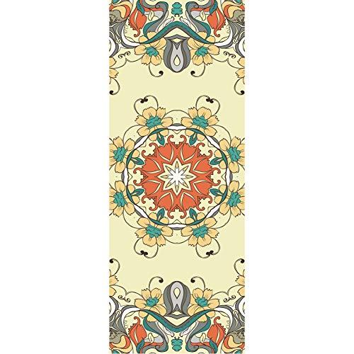 XIAMIMI Yoga-Matte Premium Print Reversible extra dick Exercise & Fitness-Matte für alle Arten von Yoga, Pilates & Bodenübungen,A