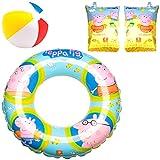 Aufblasbarer Schwimmring und Schwimmflügel für Kinder – Schwimmen Kleinkind Schwimmring und...