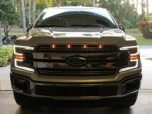 2018-2020 F150 Raptor Style Light Kit (Does not fit Honeycomb style grill)