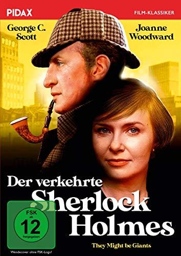 Der verkehrte Sherlock Holmes (They Might Be Giants) / Hintergründige Komödie mit toller Besetzung (Pidax Film-Klassiker)
