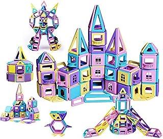 infinitoo 146Pcs Magnetic Building Blocks, Magnet Blocks Set 3D Building Blocks, Educational Construction Kit Magnet Stack...