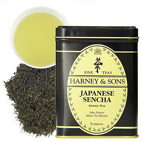 Harney & Sons Japanese Sencha Tea | 8 oz Loose Leaf Tea