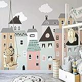 Shujuan Papel Tapiz,Https://Www.Aliexpress.Com/Store/Product/Custom-Mural-Wallpaper-For-Kids-Room-Hand-Painted-Small-House-Children-Room-Bedroom-Decorative-Wallpaper-Murals200140Cm