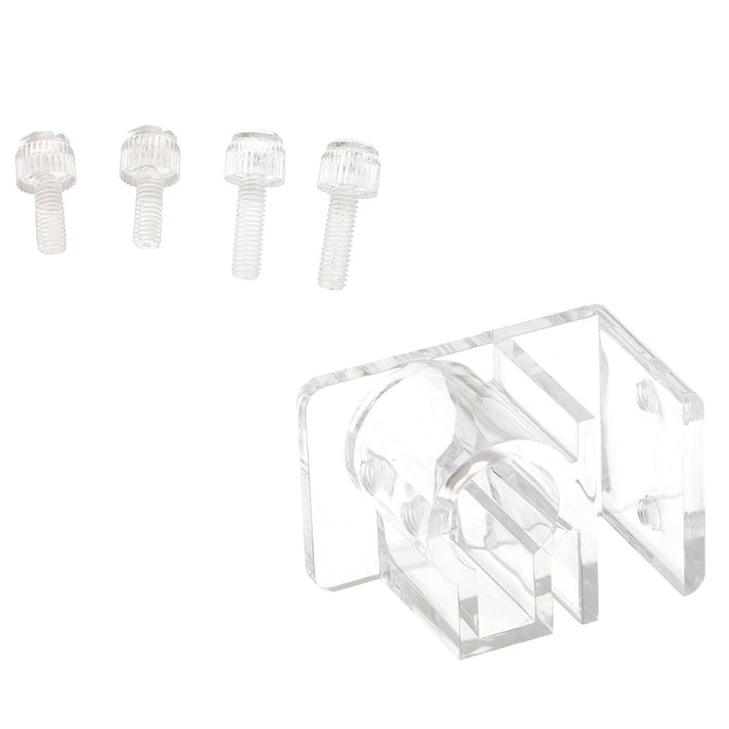 Dovewill アクリル製 アクアリウム パイプ クリップ クランプホルダー 固定用