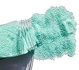 Fairy Tail & Glitzer Fee - Granulado de arena decorativa, 620 g, para rellenar vasos, jarrones o cuencos, color azul turquesa claro