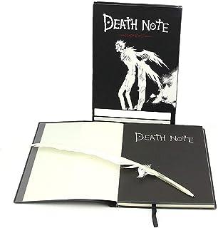DEATH NOTE デスノート ノート 筆付き コスプレ 道具 手帳 文スト 文具 A5 学生 高校生 筆記 日常用