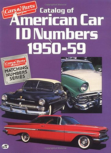 Catalog of American Car Id Numbe...