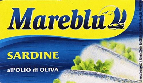Mareblu Sardine All'Olio di Oliva, 120g