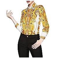 女性用長袖シャツ ラペル 格子 プリントカーディガン ベースシャツ トップス 襟 レトロ おしゃれ カジュアル
