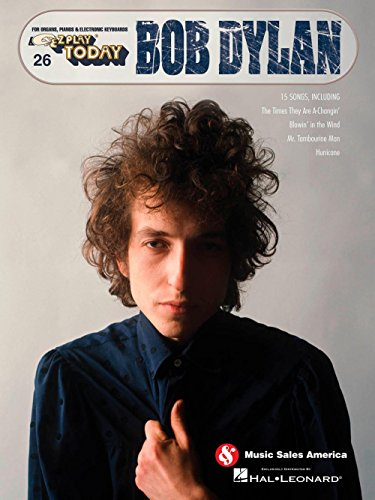 Music Sales Bob Dylan E-Z Play Today #26 (Blowin In The Wind Piano Sheet Music)