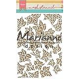 Marianne Design Plantilla de Máscara, Hojas, para Scrapbooking, Crear Tarjetas y Otras Manualidades con Papel, 149 x 210 mm