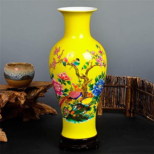 ZYG222 Keramische vaas moderne Chinese lotus vis vaas bruiloft cadeau thuis ambachten huishoudelijke artikelen