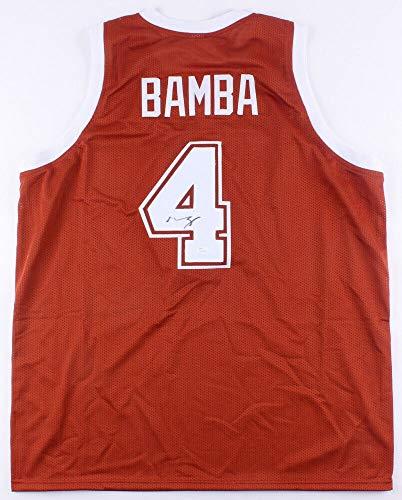Mo Bamba Autographed Signed Texas Longhorns Jersey (JSA) Orlando 1St Rd Pick 2018 NBA Draft