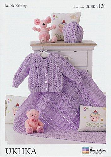 UKHKA 138 Breipatroon, maak bijpassende hoeden, vesten en dekens