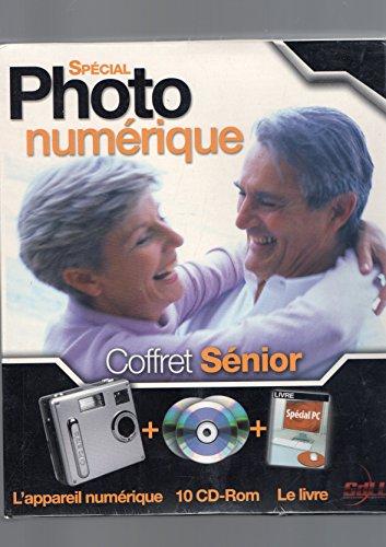 Logiciel : Pack Spécial Photo Numérique Coffret Sénior : L'appareil photo numérique Polaroid + 10 CD-Rom + Le Livre