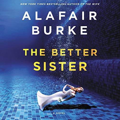 The Better Sister audiobook cover art