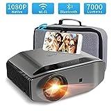 Wifi Bluetooth Projector Native 1080p 7000 Lumen Artlii Energon 2 Video Projector Support