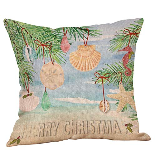 Printasaurus New Christmas Letter Pattern car Office Cushion Pillowcase Home & Garden Pillow Case