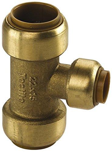 Kupfer Steckfitting Tectite T-Stück reduziert 28 mm x 28 mm x 15 mm, T130R