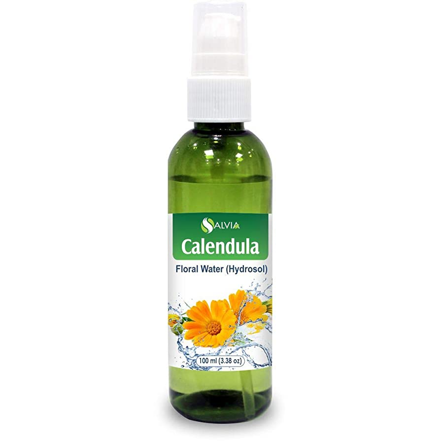 知覚的キャンパスエゴイズムCalendula Floral Floral Water 100ml (Hydrosol) 100% Pure And Natural