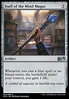 Magic: the Gathering - Staff of the Mind Magus (234/269) - Magic 2015