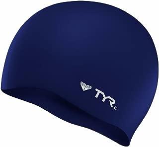 TYR - Gorro de natación Antiarrugas (Silicona)