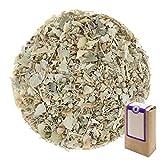 n° 1399: tè alle erbe biologique in foglie fiore di tiglio - 100 g - gaiwan® germany - tisana alle erbe, tisane in foglia, tè bio, fiore di fillirea, bosnia