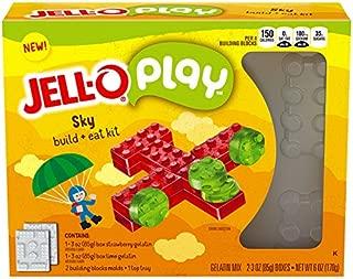 JELL-O Play Sky Build + Eat Gelatin Dessert Kit (6 oz Box)