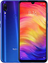 "Xiaomi Redmi Note 7 Smartphone, 4 GB RAM 128 GB ROM,48 MP Cámara AI,6.3 ""gotas de agua pantalla Full HD, Dual SIM (Azul)"