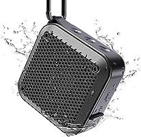 【最新版】KIYE BT525 Bluetoothスピーカー完全ワイヤレス ミニ 小型minコンパクポータブルスピーカー、IPX7防水規格、強化された低音大音量、TWS対応...