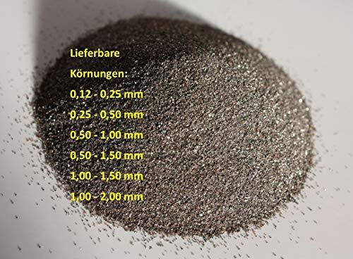 25 kg Normalkorund Korund FESI Strahlmittel Strahlgut in großer Auswahl (0,50-1,00 mm)