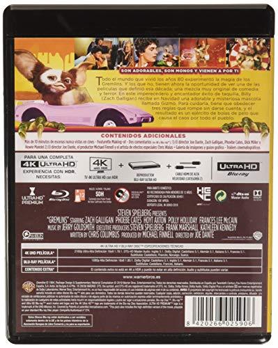 Gremlins 4k (4k Ultra Hd + Blu-Ray)