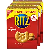 RITZ Original Crackers, Family Size, 3 Boxes