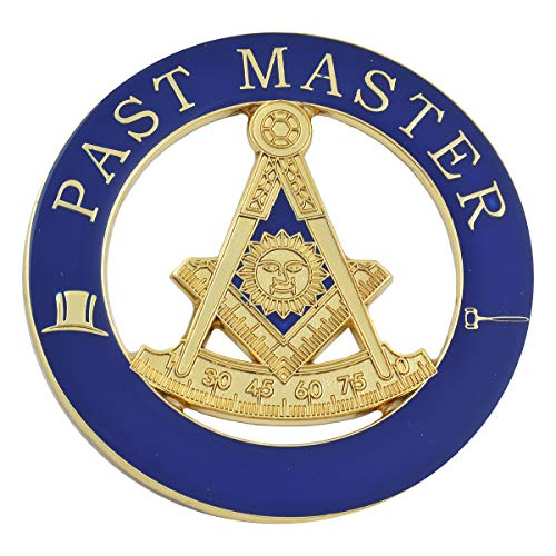 Masonic Exchange Past Master with Square Auto Emblem Car Decal