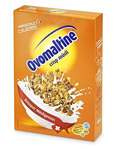 Ovomaltine Crisp Muesli, confezione da (2 X 500 G)