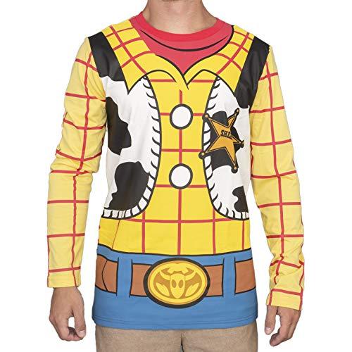 Mad Engine Toy Story I am Woody - Camiseta de manga larga...