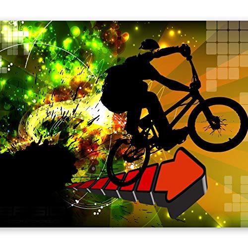murando Fototapete Graffiti 400x280 cm Vlies Tapeten Wandtapete XXL Moderne Wanddeko Design Wand Dekoration Wohnzimmer Schlafzimmer Büro Flur Street Art bunt hip-hop i-B-0054-a-a