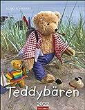 Teddybären Kalender 2022 - Wandkalender mit Monatskalendarium - Planer mit Platz zum Eintragen - 12...