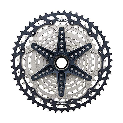 Shimano 12V.10/45 SLX Cassette de Cyclisme Unisexe pour Adulte Multicolore 10/45