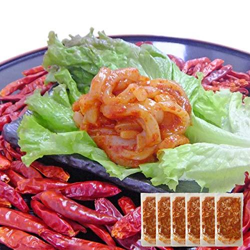 イカ屋荘三郎 珍味 激辛 イカキムチ60g×6袋 国産 石川産 ギフト ヤマキ食品