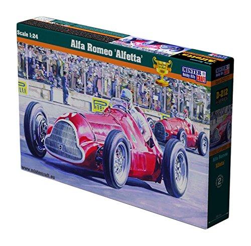 MisterCraft D de 222–Maqueta de Alfa Romeo Alfetta