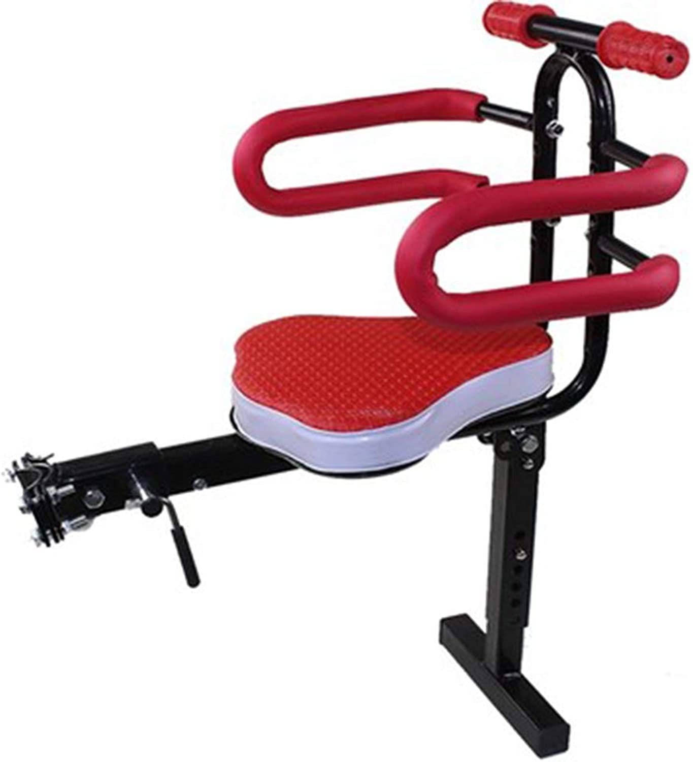 Universal Bicycle Carrier Rack Baby Toddlers Seat with Support PedalFront Bike Seat Quick Release