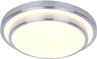 AFSEMOS Flush Mount LED Ceiling Light Warm White 9 Inches Round 18W 3000K, Flush Mount Ceiling Light Modern Decoration for Kitchen Dining Room Bathroom Bedroom